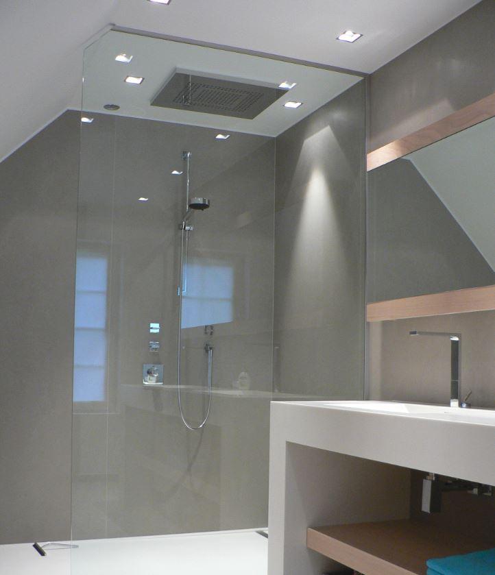 Kerlite tegels badkamer 23 170632 betonlook platen badkamer u2013 vintage badkamer - Renoveren meubilair badkamer ...